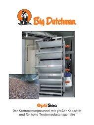 OptiSec Kottrocknungstunnel - Inauen | Big Dutchman