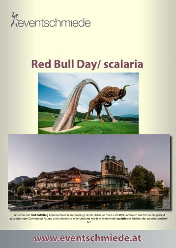 Red Bull Day/ scalaria - Eventschmiede