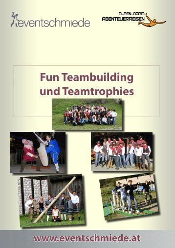Fun Teambuilding und Teamtrophies - Eventschmiede