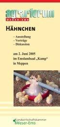 """am 2. Juni 2005 im Emslandsaal """"Kamp"""" in Meppen - Big Dutchman ..."""