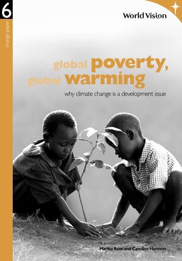 global poverty, global warming - Jubilee Centre