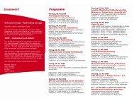 Schweiz bewegt - Rothenburg bewegt 2009 - Schule und ...