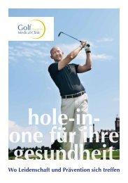 Hole-in-One für Ihre Gesundheit - Reha Rheinfelden