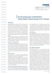 Die Therapiekonzepte im REHAB Basel Affolter-Modell®, Bobath ...