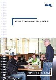 Notice d'orientation des patients Votre séjour chez ... - REHAB Basel