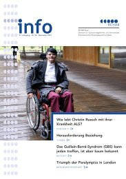 Wie lebt Christin Ruesch mit ihrer Krankheit ALS ... - REHAB Basel