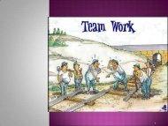 Team work - Rehabilitációs Tanszék