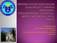A húgyhólyag katéter alkalmazások vizsgálata rehabilitációs osztályon