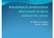 Á Dr. Bajusz-Leny Ágnes DEOEC-ORFMT