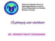 Rehabilitation after burn injury - Rehabilitációs Tanszék - és ...