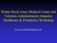 Walter Reed Army Medical Center and Veterans Administration ...