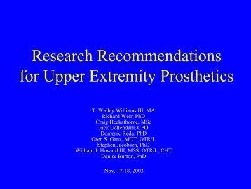 Upper-Limb prostheses
