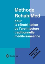 Méthode RehabiMed pour la réhabilitation de l'architecture ...