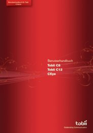 Tobii C8/C12 Handbuch - RehaMedia