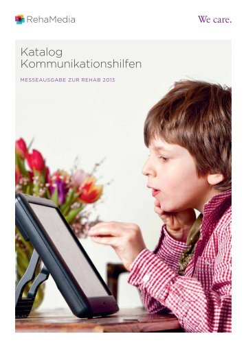 Katalog Kommunikationshilfen - Reha Media