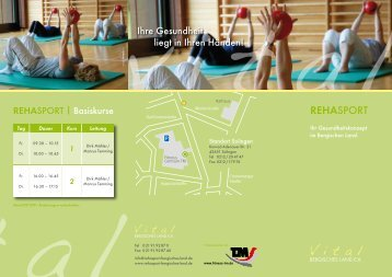 RehaSport - VItal Bergisches Land eV