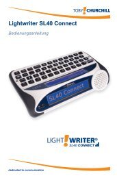 Lightwriter SL40 Connect - Toby Churchill