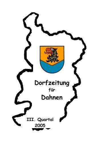 Sonntag, 4. September 2005 - Ortsgemeinde Dahnen