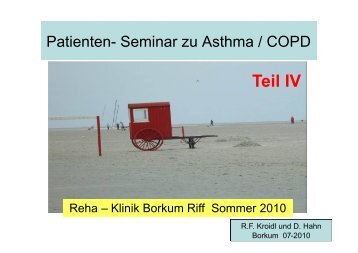 Management mit Pharmaka - Rehazentrum Klinik Borkum Riff