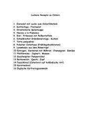 Leckere Rezepte zu Ostern - Rehazentrum Klinik Borkum Riff