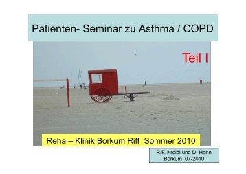 Wunder Atmung Teil I - Rehazentrum Klinik Borkum Riff