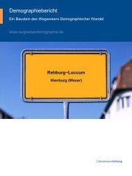 Wegweiser Demographischer Wandel - Rehburg-Loccum 2030