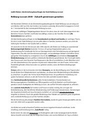 Rehburg-Loccum 2030 – Zukunft gemeinsam gestalten