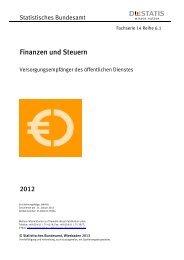 Fachserie 14 Reihe 6.1 - 2012 - Statistisches Bundesamt