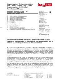Gemeinsames Rundschreiben SenStadt VI A ... - Forum Vergabe