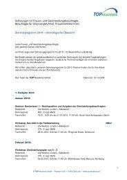 Schulungen für Frauen- und ... - rehmnetz.de