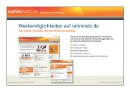 Mediadaten rehmnetz 2013:Layout 1.qxd - rehmnetz.de