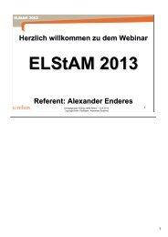 130430 - ELSTAM Webinar-HJR - rehmnetz.de
