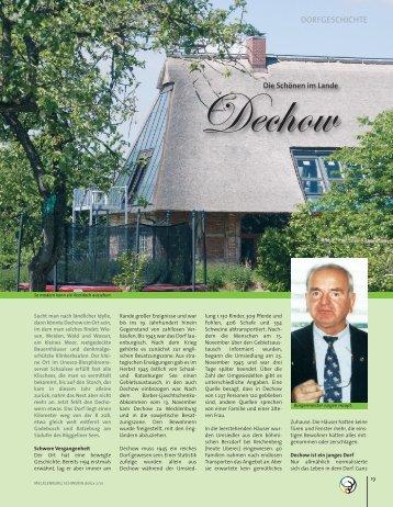 Artikel im Mecklenburg Schwerin delüx Magazin ... - Amt Rehna