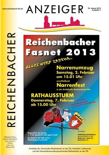Kalenderwoche 4 - Gemeinde Reichenbach an der Fils