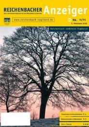 6. November 2005 S. 9-13 - Reichenbach