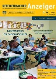 Kompetenztests für Sachsens Schüler - Reichenbach