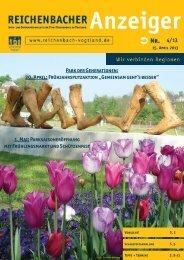 4/13 Park der Generationen: 20. April ... - Reichenbach