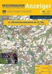 11. Göltzschtalradlertag am 12. Mai - Reichenbach