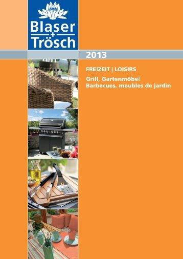 Catalogue LOISIRS 2013.pdf - Blaser + Trösch