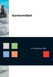 Gartenmoebel Katalog 2013 - Blumen Strub Grenchen