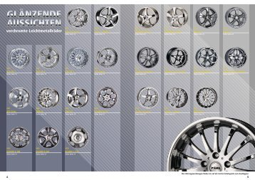 verchromte Leichtmetallräder - REIFF Gruppe