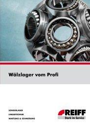 Wälzlager vom Profi (2012) - REIFF Technische Produkte