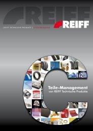 C-Teile-Management - REIFF Technische Produkte