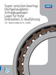 Spindellager - REIFF Technische Produkte