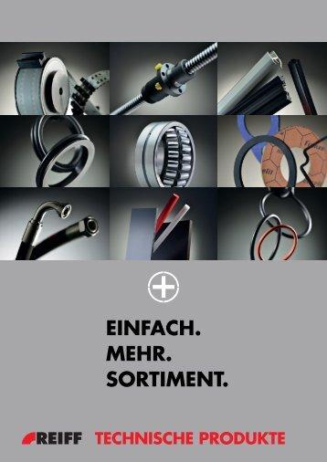 Sortimentsbroschüre (2014) - REIFF Technische Produkte