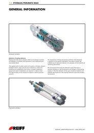 Hydraulic/Pneumatic Seals