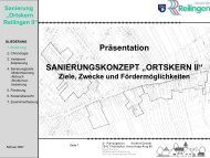 Präsentation - Gemeinde Reilingen
