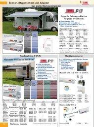 Sonnen-/Regenschutz und Adapter