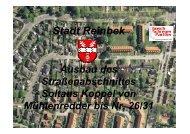 Präsentation Teil 2 - Stadt Reinbek