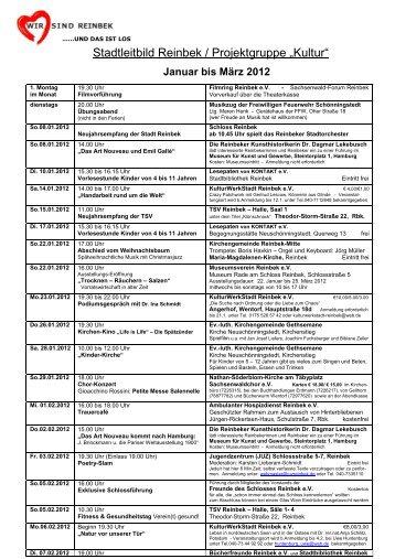 1-3 2012 Internetseite Stadt 2 - Stadt Reinbek